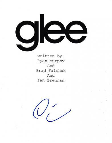 Darren Criss Signed Glee Script Authentic Autograph Fox Coa