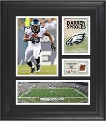 Darren Sproles Philadelphia Eagles Framed 15'' x 17'' Collage with Game-Used Football