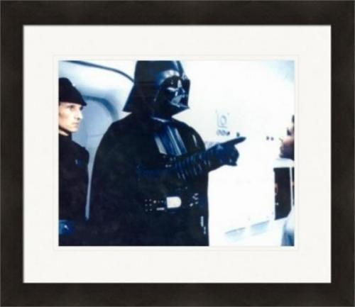 Darth Vader 8x10 photo (Star Wars Anakin Skywalker Sith Lord) Princess Leia Carrie Fisher Matted & Framed