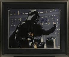 Darth Vader (Dave Prowse) Signed, Shadowbox Collage