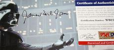DARTH VADER James Earl Jones signed 8 x 10, Star Wars, Disney, PSA/DNA