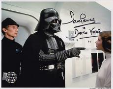 Darth Vader Signed 8x10 Picture Actor Dave Prowse Star Wars Autograph Photograph