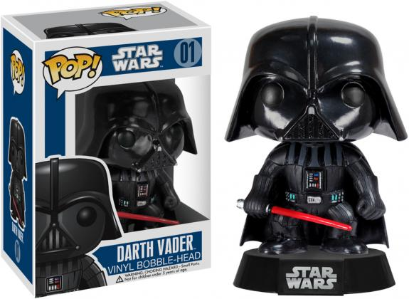 Darth Vader Star Wars #01 Funko Pop!