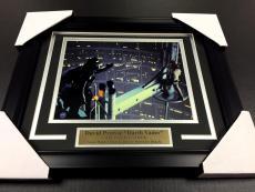 Darth Vader Star Wars David Prowse Autographed Framed 8x10 Photo Steiner Coa