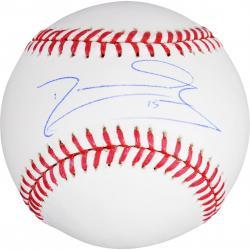 Darwin Barney Autographed Baseball