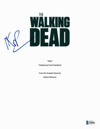 Daryl Dixon Norman Reedus Signed 'the Walking Dead' Full Script Screenplay Bas 5