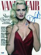 Daryl Hannah Signed Vanity Fair Magazine Cover PSA/DNA #J00136