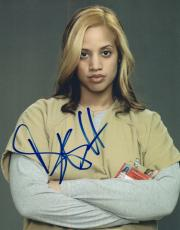 Dascha Polanco Signed Autographed 8x10 Photo Orange is the New Black COA VD