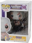 "Dave Bautista Guardians of the Galaxy 2 Autographed #200 Drax Funko Pop! with ""Drax"" Inscription - JSA"