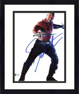 Dave Bautista Guardians of the Galaxy Signed 8x10 Photo BAS #C63667