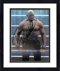 Dave Bautista Guardians of the Galaxy Signed 8x10 Photo BAS #ED94494