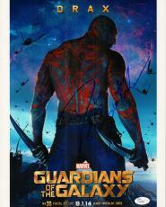 Dave Bautista Signed 11x14 Photo w/JSA COA P70386 Drax Guardians of The Galaxy