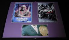 Dave Bautista Signed Framed 16x20 Photo Set Guardians of the Galaxy Drax Batista