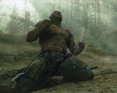 DAVE BAUTISTA signed (GUARDIANS OF THE GALAXY) DRAX 8X10 photo AVENGERS W/COA #2