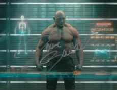 DAVE BAUTISTA signed *GUARDIANS OF THE GALAXY* DRAX 8x10 photo W/COA *PROOF* #4