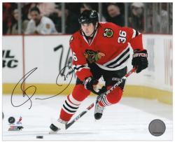 "Chicago Blackhawks David Bolland Autographed 8"" x 10"" Photo -"