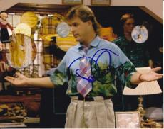Dave Coulier signed Full House 8x10 photo W/Coa Joey Gladstone #1