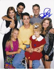 Dave Coulier signed Full House 8x10 photo W/Coa Joey Gladstone #5