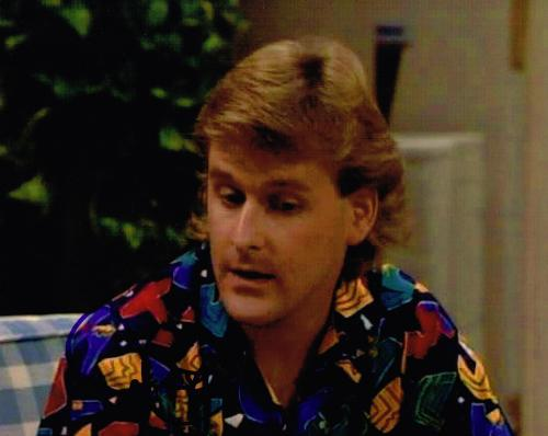 DAVE COULIER signed FULL HOUSE photo w/ COA