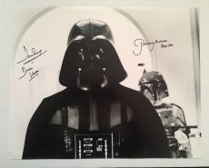 Dave David Prowse Jeremy Bulloch Signed Vader 16x20 Photo Star Wars BECKETT COA