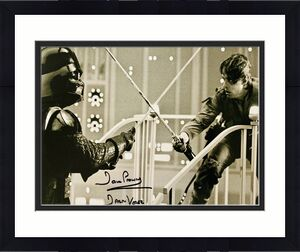 Dave David Prowse Signed Star Wars Darth Vader 11x14 Photo Beckett BAS 16