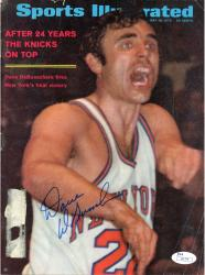 Dave Debusschere New York Knicks Autographed (5/18/70) Sports Illustrated Magazine (JSA)