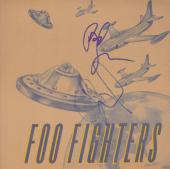 "DAVE GROHL & PAT SMEAR Signed Foo Fighters ""This Is A Call"" 7"" Album PSA/DNA"