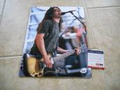 Dave Grohl 11x14 Signed Autographed Photo PSA Certified #2 Foo Fighters Nirvana