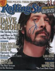 Dave Grohl Autographed Signed Rolling Stone 11x14 Photo AFTAL