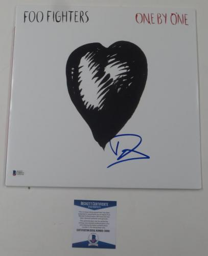 Dave Grohl Foo Fighters Signed Autograph One By One Album Beckett