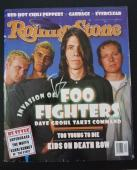 Dave Grohl Foo Fighters Signed Autographed Rolling Stone Magazine READ