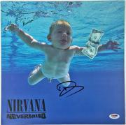 "Dave Grohl & Krist Novoselic Signed Nirvana ""nevermind"" Album Psa/dna Coa Y45862"