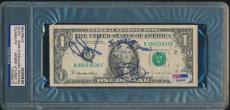 Dave Grohl & Pat Smear Signed Dollar Bill Nirvana +foo Fighters Psa/dna Rare