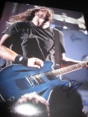 DAVE GROHL SIGNED AUTOGRAPH 11x14 PHOTO FOO FIGHTERS CONCERT SHOT GUITAR COA H