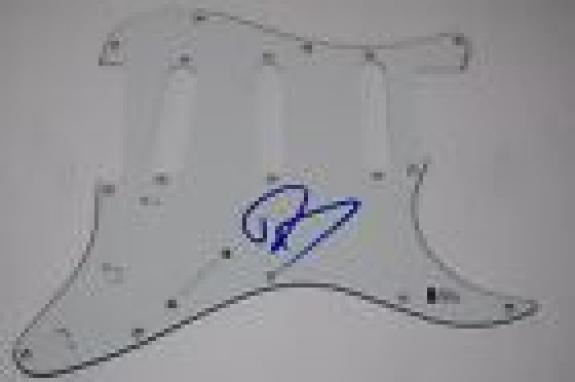 Dave Grohl Signed Autograph Electric Guitar Pickguard NIRVANA BAS BECKETT COA