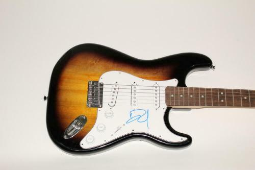 Dave Grohl Signed Autograph Fender Brand Electric Guitar Nirvana, Foo Fighters C