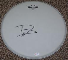 Dave Grohl Signed Autograph Remo 14 Inch Drumhead Foo Fighters Nirvana Psa/dna