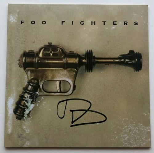"Dave Grohl Signed Foo Fighters ""Sonic Highways"" Vinyl Record Album BAS COA"