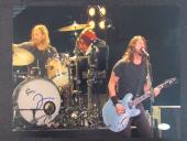 Dave Grohl Taylor Hawkins Foo Fighters Signed Autograph 11x14 Photo JSA T00805