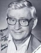 Dave Madden Signed 8x10 Promotional Photo Folder Merry Christmas Inscription