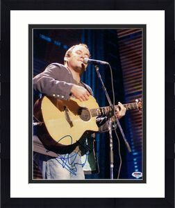 Dave Matthews Band Signed Autograph 11x14 Photo Before These Crowded Streets Psa