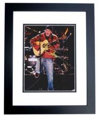 Dave Matthews Autographed 8x10 Concert Photo BLACK CUSTOM FRAME