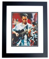 Dave Matthews Autographed Concert 8x10 Photo BLACK CUSTOM FRAME - The Dave Matthews Band