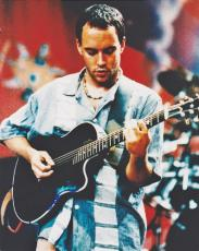 Dave Matthews Autographed Concert 8x10 Photo - The Dave Matthews Band