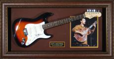 Dave Matthews Autographed Guitar Framed Display