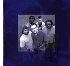 Dave Matthews Autographed Signed Album Insert Booklet AFTAL UACC RD COA