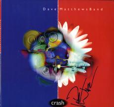 Dave Matthews Autographed Signed Crash Album Lp AFTAL UACC RD COA
