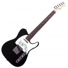 Dave Matthews Autographed Telecaster Style Guitar w Sketch & Exact Proof