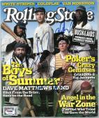 Dave Matthews Band (4) Multi Signed Rolling Stone Magazine PSA/DNA #Z03936