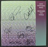 Dave Matthews Band (7) Signed Remember 2 Things Album Cover W/ Vinyl PSA AA01982